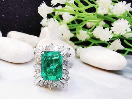 #emerald ring