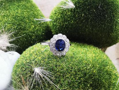 #blue sapphire ring