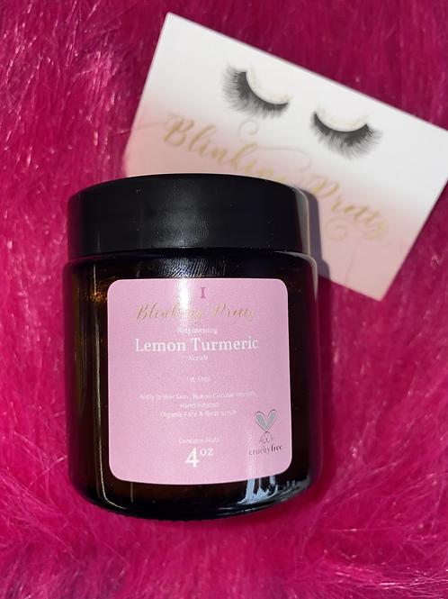 Lemon Turmeric exfoliant