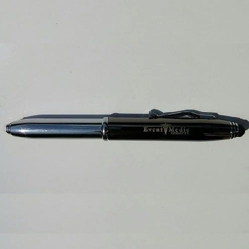 Event Medic Services Tri-Function Pen, LED Flashlight & Stylus