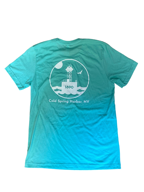 EAST OF EGG™ Cold Spring Harbor Mens Shirt - Seafoam