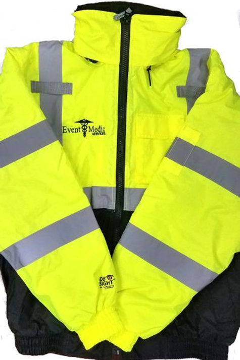EMS Safety Yellow Jacket