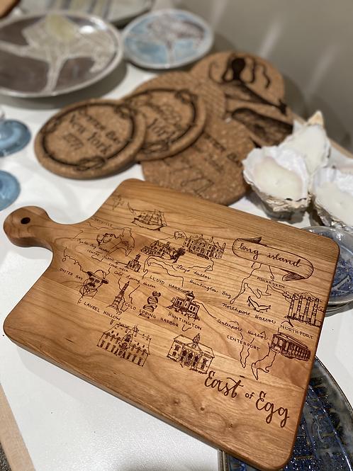EAST OF EGG™ Custom Cutting Board