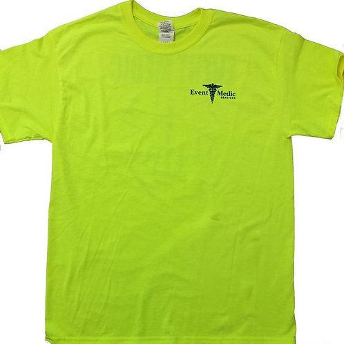 EMS Safety Yellow T-Shirt