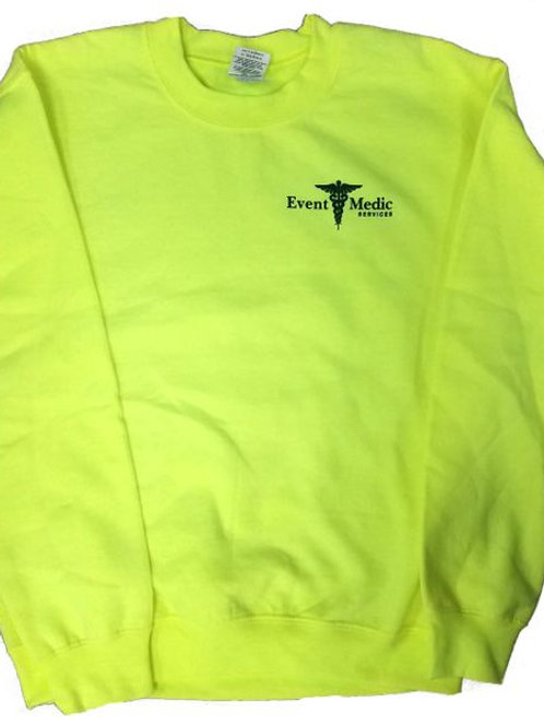 EMS Safety Yellow Sweatshirt