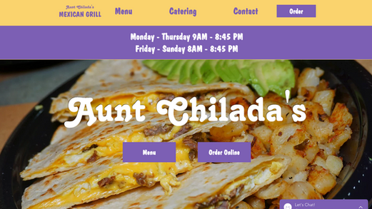 Aunt Chilada's Mexican Grill