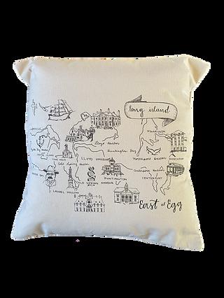 East of Egg Pillow