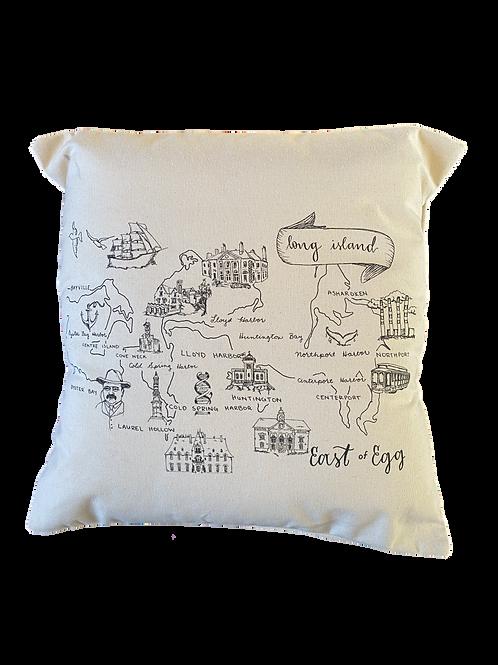 EAST OF EGG™ East of Egg Pillow