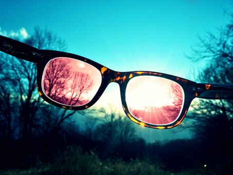 Staying positive through Rose Colored Glasses