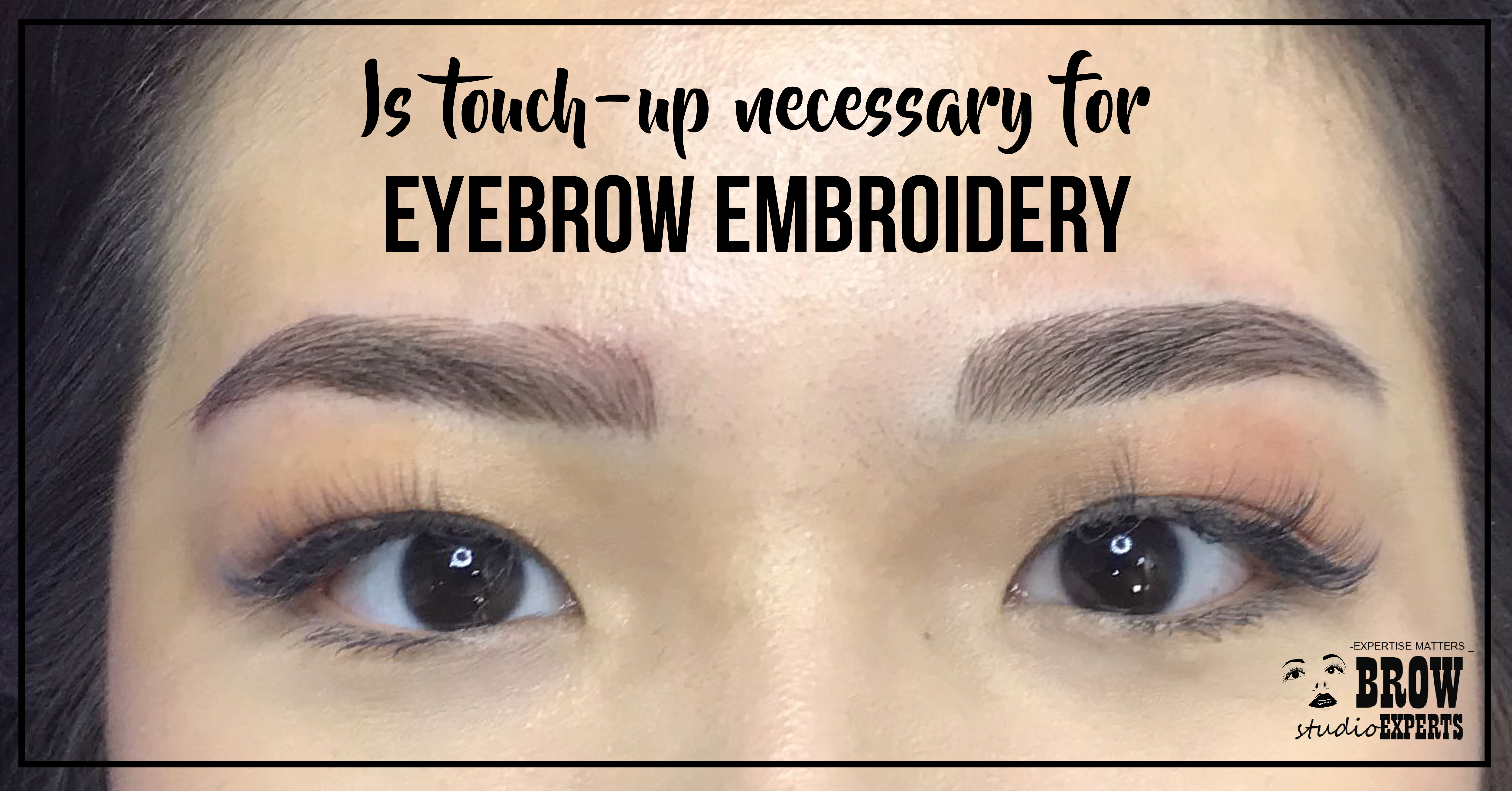 Is Touch Up Necessary After Eyebrow Embroidery Eyebrow Embroidery