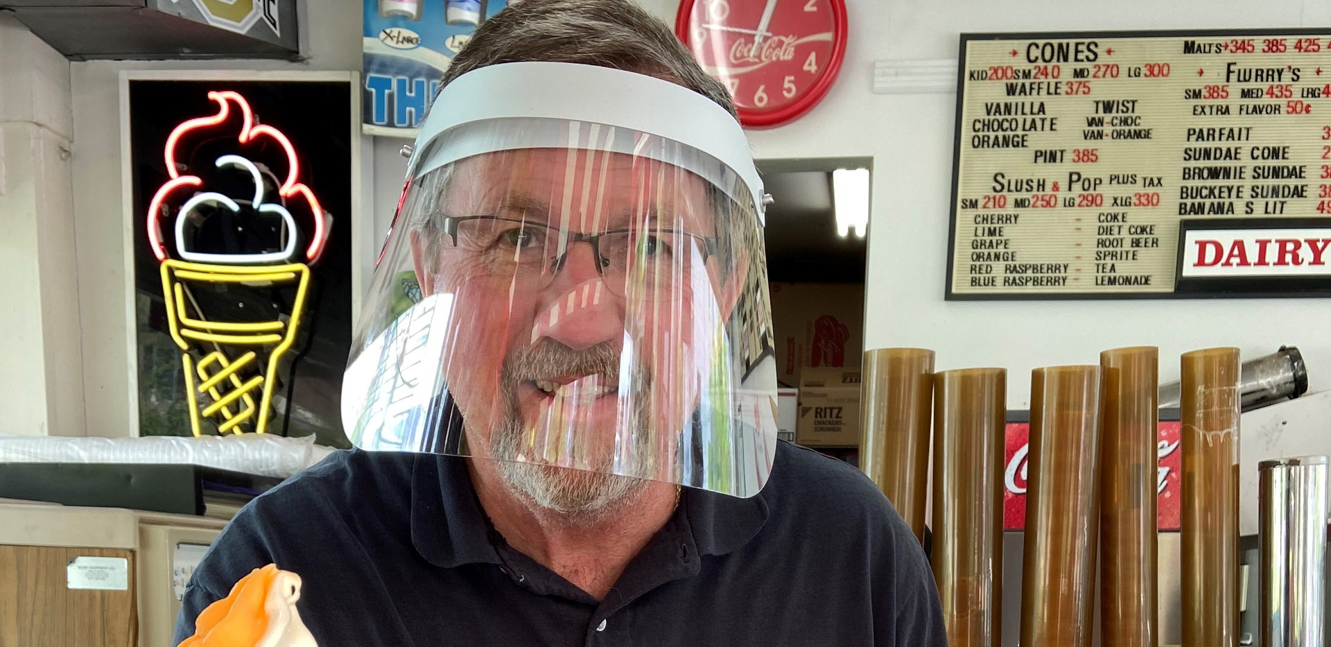 Food Service Face Shields