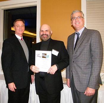 Ron, President, at PIANKO award reception