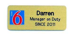 Engraved Name Tags
