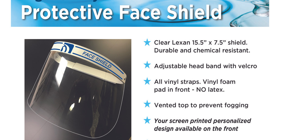 Clear Protective Face Shields