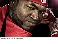 vitamin water_Red Sox ⓠDavid Ortiz