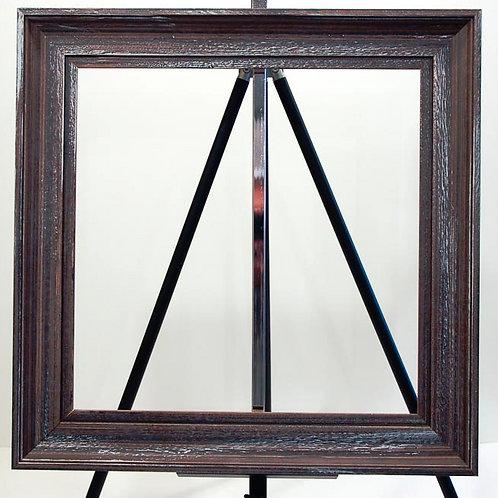 Brown/Silver Scoop Frame