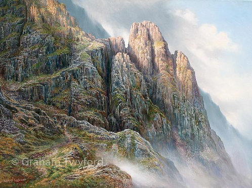 Pillar Rock and the shamrock Traverse