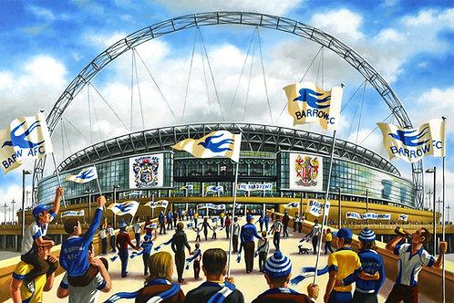 Bluebirds Over Wembley