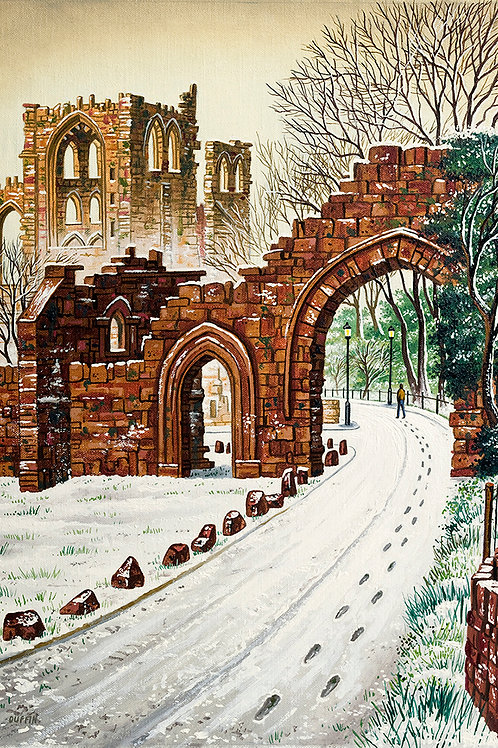 Furness Abbey Approach from Abbey Road