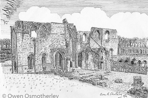 The Nave, Furness Abbey