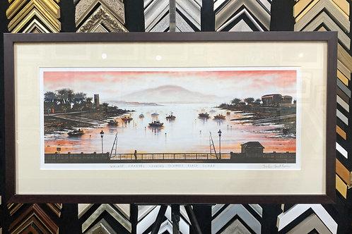 Walney Channel Looking Towards Black Combe by John Duffin