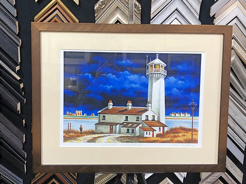Walney Lighthouse by John Duffin