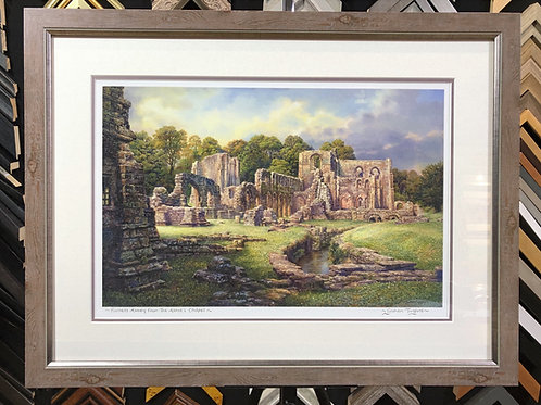 Furness Abbey from Abbot's Chapel by Graham Twyford
