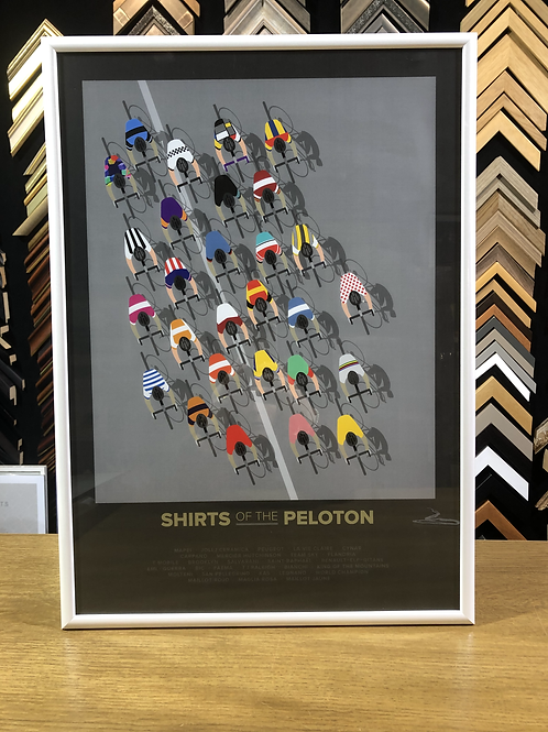 The Shirts of the Peloton