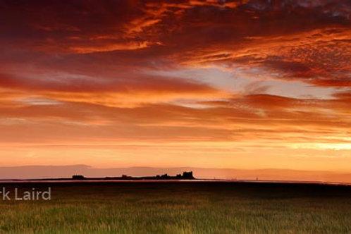 Piel Island and Castle Sunrise