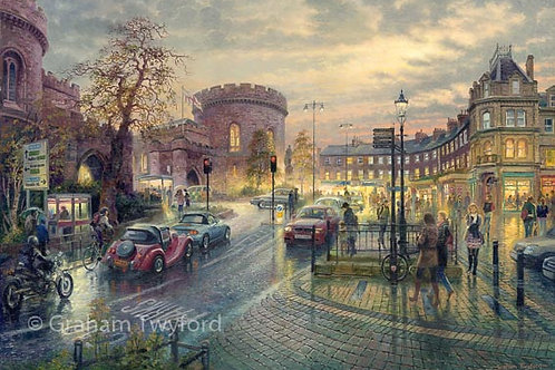 Carlisle, The Citadel by Twilight