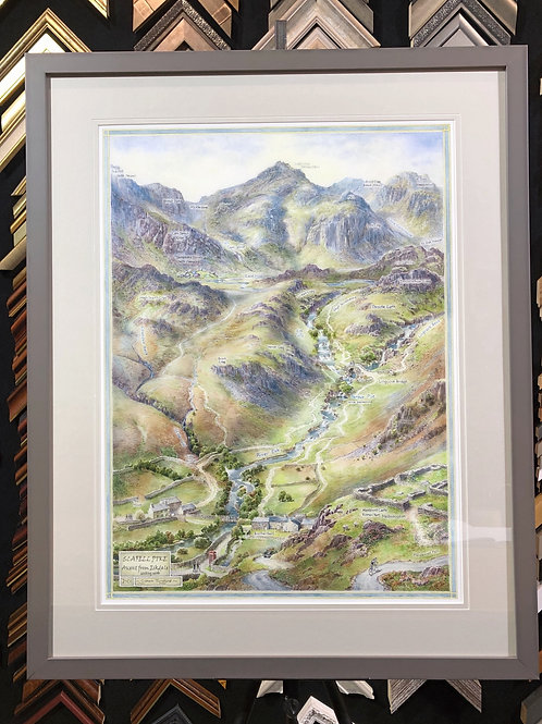 Scafell Pike Ascent from Eskdale by Graham Twyford