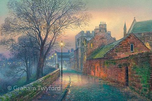 West Walls by Twilight - Carlisle