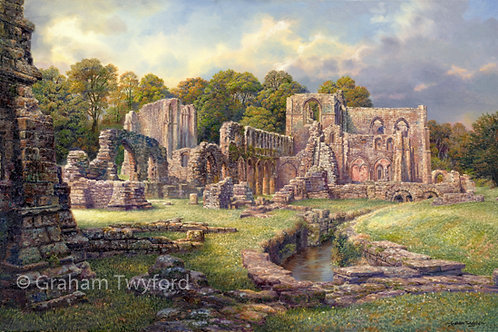Furness Abbey, from the Abbot's Chapel