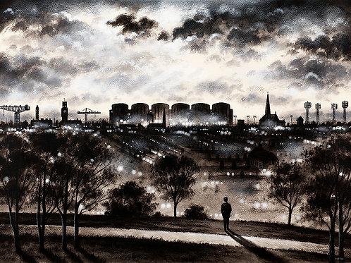 Barrow Skyline from Barrow Park