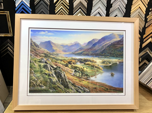 Buttermere Valley by Graham Twyford
