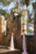 birdcage, centrepiece, wedding reception