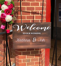 Welcome Signs for Hire