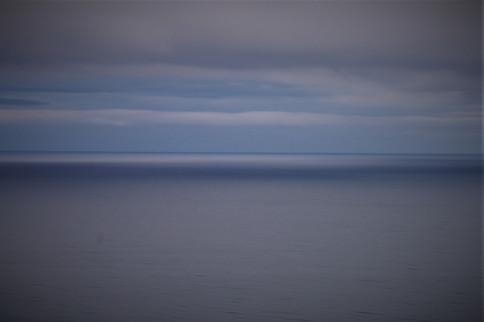 Serenity of blue