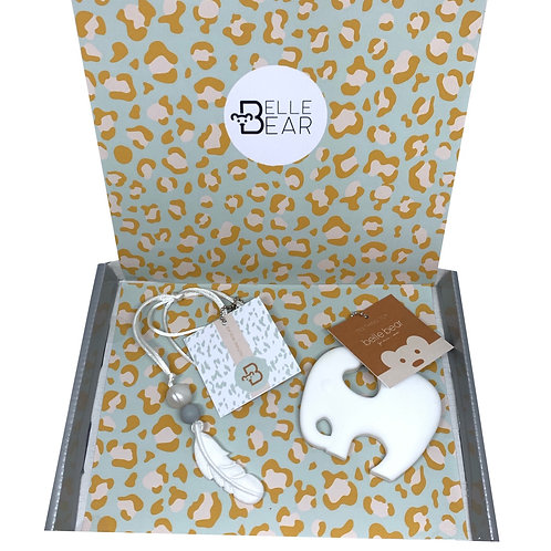 Mini & Mama Giftbox in White