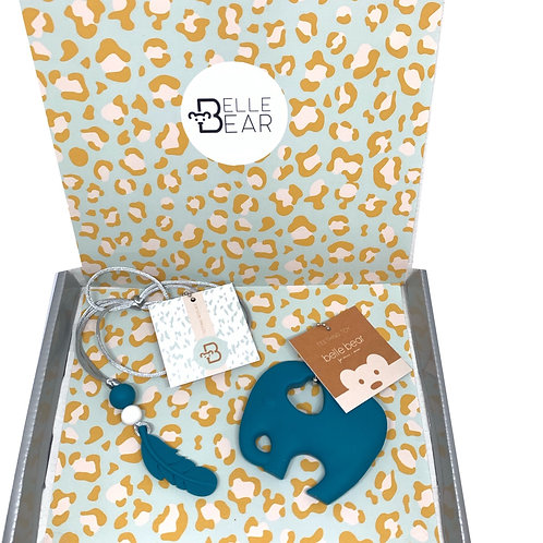 Mini & Mama Giftbox in Biscay Teal
