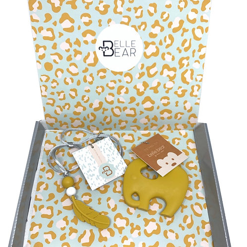 Mini & Mama Giftbox in Mustard