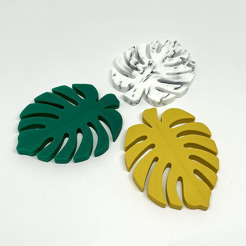Silicone Monstera Teether