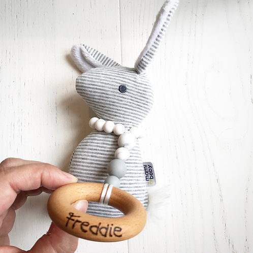 Cottontail Personalised Rattle