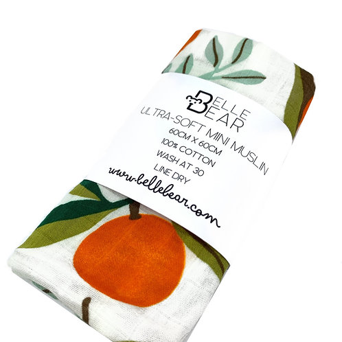 Oranges Ultra-Soft Mini Muslin