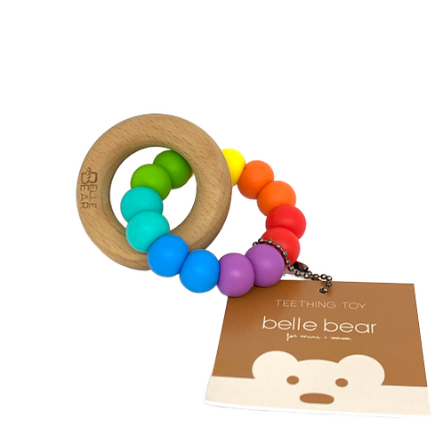 NHS Charity Rainbow Teether