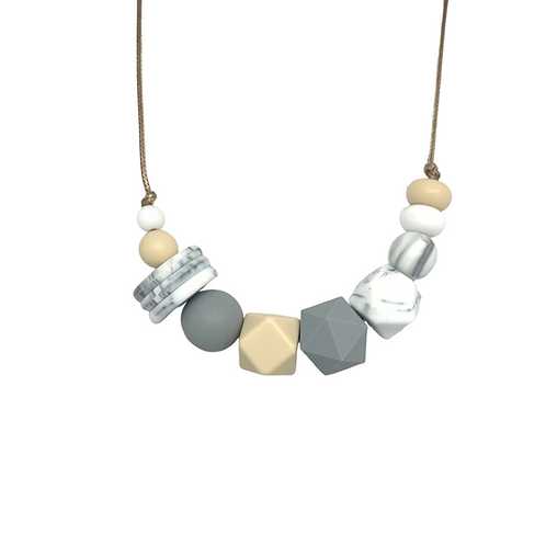 VOGUE Teething Necklace Marble