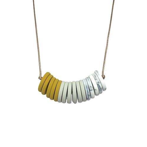 CASINO Teething Necklace Mustard