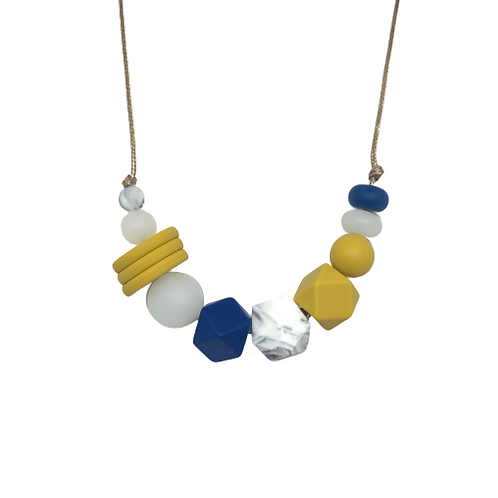 VOGUE Teething Necklace Mustard