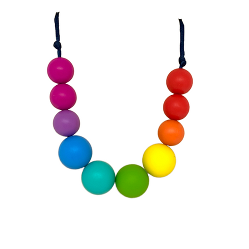 NHS Charity Rainbow Teething Necklace