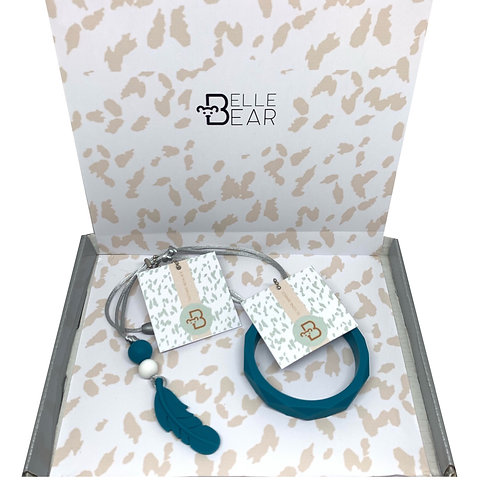 Mama Giftbox in Biscay Teal